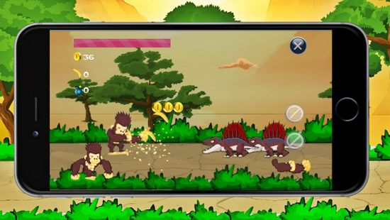 Screenshots - Monkey King Kong vs Dinosaurs