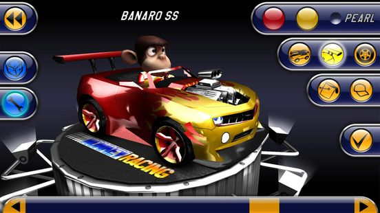 Screenshots - Monkey Racing Free