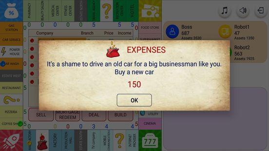 Screenshots - Monopolist - Business Dice Board