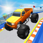 Monster Truck Stunts Race- Mega Ramps Truck Game