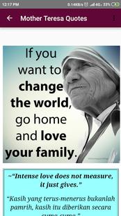 Screenshots - Mother Teresa Inspirational Quotes