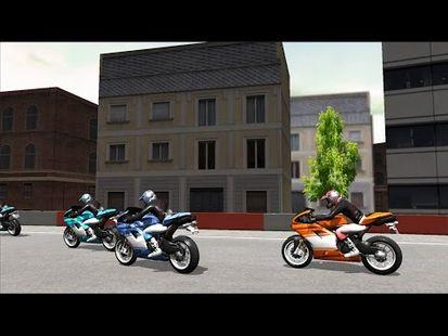 Video Image - Motor Bike Racing Sports