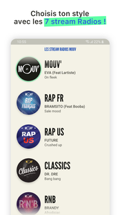 Screenshots - MOUV' - radio hip hop rap