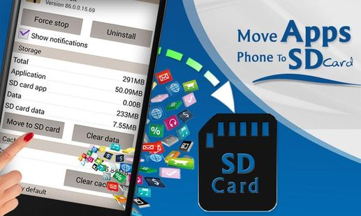 Screenshots - Move Apps Phone to SD card