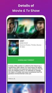 Screenshots - Movie Tube - Free Movie Downloader - Torrent Movie