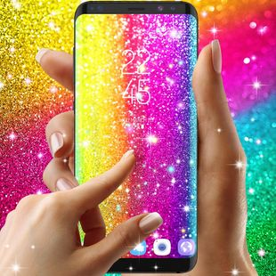 Screenshots - Multi color glitter live wallpaper