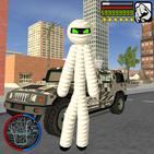 Mummy Stickman Rope Hero  Gangstar crime Simulator