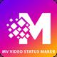 mv master - Short Video Status Maker & Editor
