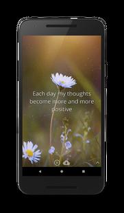 Screenshots - My Affirmations: Live Positive