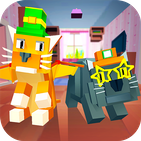 My Blocky Cat: Virtual Pet - try animal care game!