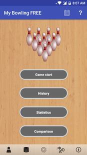 Screenshots - My Bowling Scoreboard