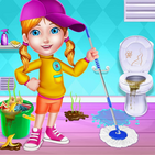 My Messy Home Cleanup - Girls House Cleaning Game