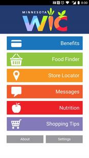 Screenshots - My Minnesota WIC App