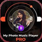 My Photo On Music Player - Background Album Theme