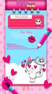 Screenshots - My Secret Diary App