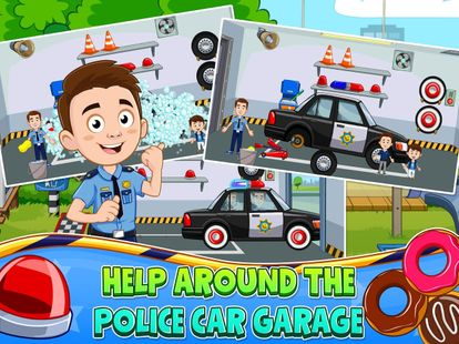 Screenshots - My Town : Police Station Pretend games for Kids