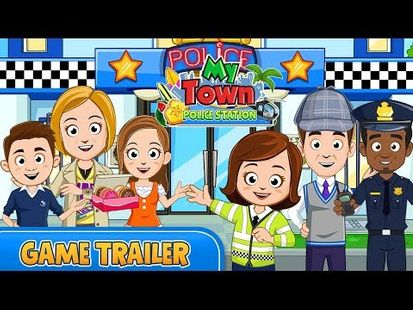 Video Image - My Town : Police Station Pretend games for Kids