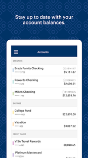 Screenshots - MyOCCU Mobile Banking