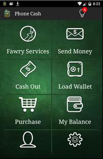 Screenshots - NBE-PhoneCash