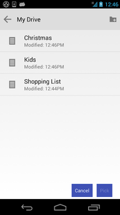 Screenshots - NE Google Drive