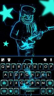 Screenshots - Neon DJ Music Keyboard Background