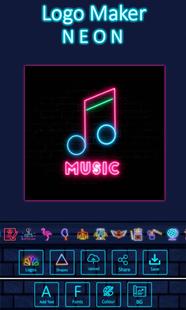 Screenshots - Neon Logo Maker - Logo Creator & Logo Designer