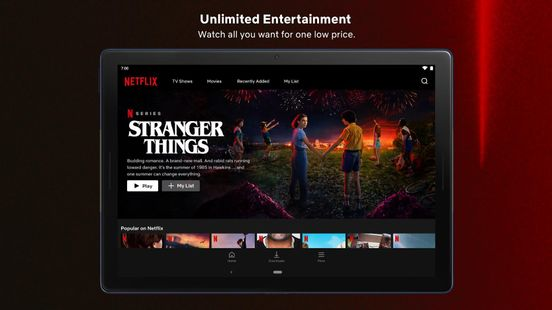 Screenshots - Netflix
