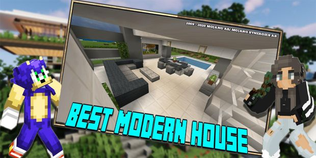 Screenshots - New Smart Mansion 3 - Modern House Mod For MCPE