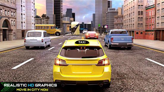 Screenshots - New Taxi Simulator – 3D Car Simulator Games 2020