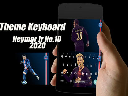 Screenshots - Neymar Jr No.10 Keyboard Theme 2020