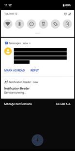 Screenshots - Notification Reader