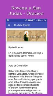 Screenshots - Novena a San Judas