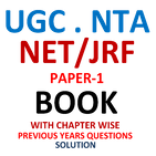 NTA NET PAPER 1 BOOK with PYQ Solution