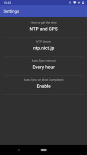 Screenshots - NTP & GPS Clock [ROOT]