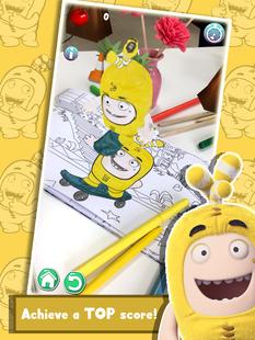 Screenshots - Oddbods Live Coloring (AR)