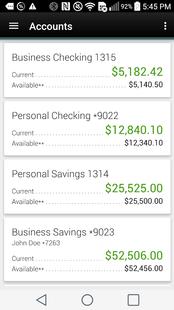 Screenshots - OFCU Mobile Banking
