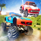 Offroad Crazy Monster Truck Driving Game Trials 3D