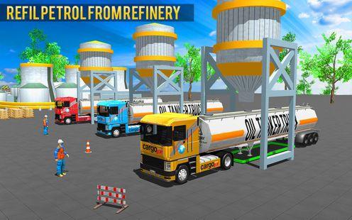 Screenshots - Offroad Oil Tanker Truck Driver: Truck Games 2019
