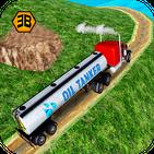 Oil tanker truck sim - offroad transporter driver
