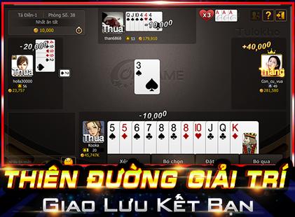 Screenshots - Ongame Tú Lơ Khơ (game bài)
