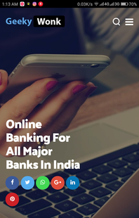 Screenshots - Online Banking - All In One