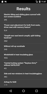 Screenshots - Option Decoder for VW/Audi/SEAT/Skoda