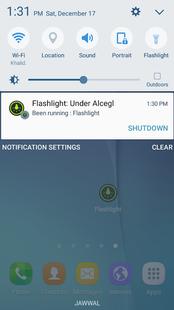 Screenshots - Original flashlight