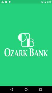 Screenshots - Ozark Bank Mobile Access
