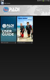 Screenshots - PADI Library