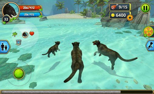 Screenshots - Panther Family Sim Online - Animal Simulator