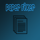 Paper Fixer