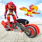 Parrot Robot Transforme: Robot Bike Games