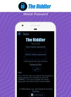 Screenshots - Password Manager
