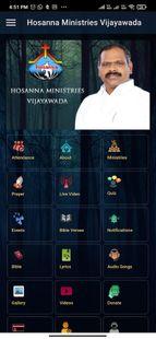 Screenshots - Pastor Ramesh Hosanna Ministries